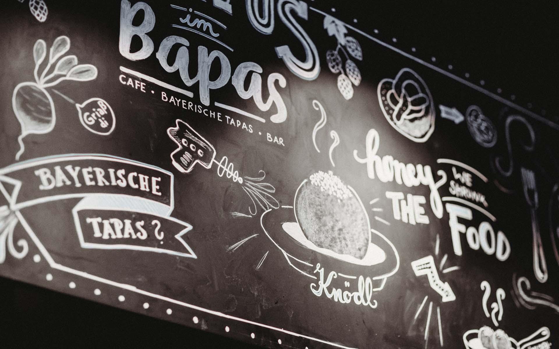 Bapas - Bayerische Tapas - Bar - Cafe - München Schwabing